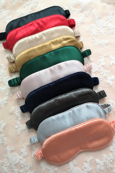 Mulberry Silk Eye Mask (11 colours)
