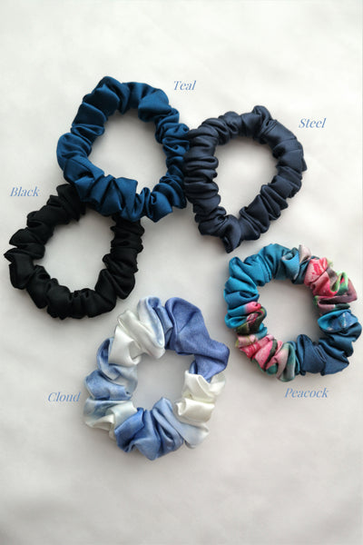 WINTER Mulberry Silk Scrunchies (3 for $50)
