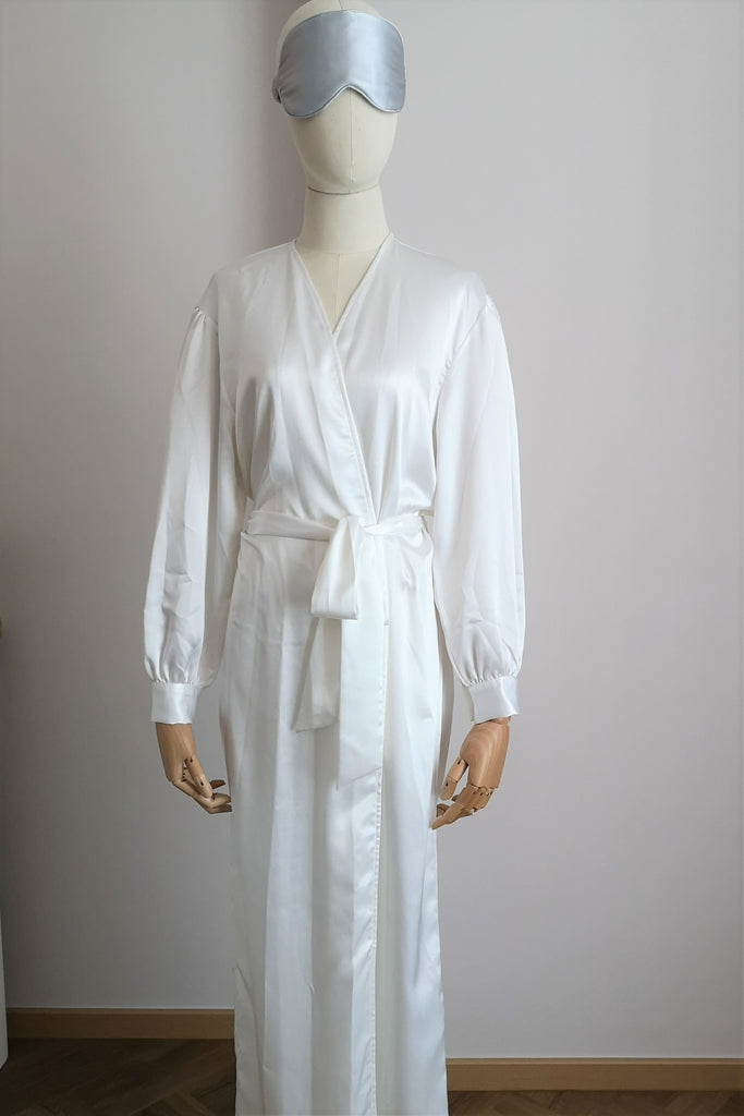 Silk Dressing Gown S #61