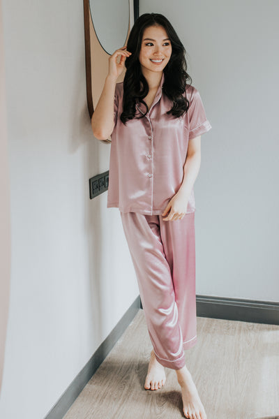 Long Silk Pyjamas S #66