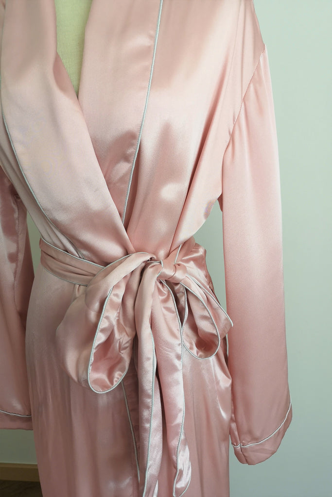 Silk Dressing Gown S #35