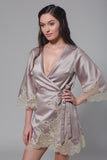 Astoria Satin Robe