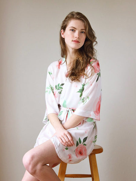 Blooming Roses Robe