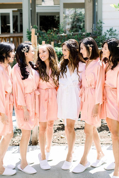 Bridesmaids Silk Robe Bundle