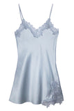 Dove Blue Satin Slip