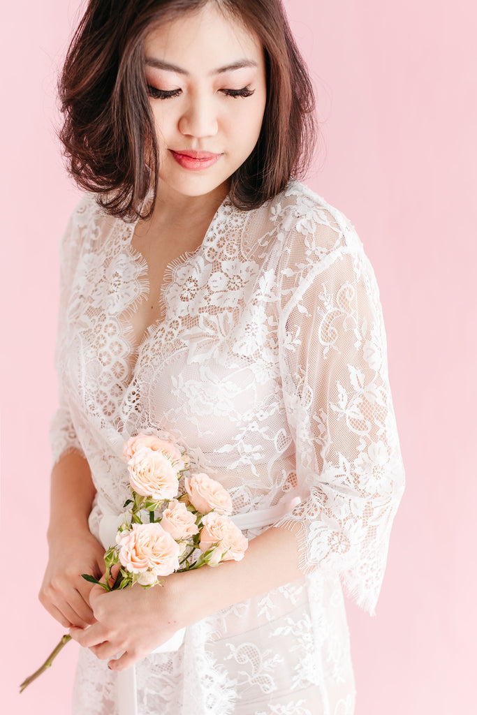 Ever After Lace Robe  8d5703bf7