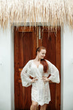 French Romance Lace Robe