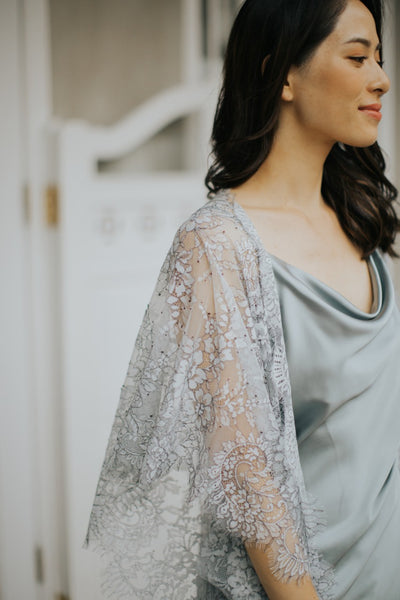 Limited Lace Kaftan (Grey)