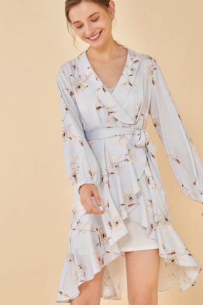 Lucia Floral Robe