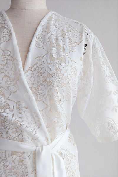 Ma Cherie Lace Robe