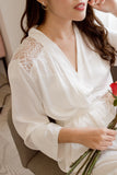 Ma Joie Bridal Satin Robe
