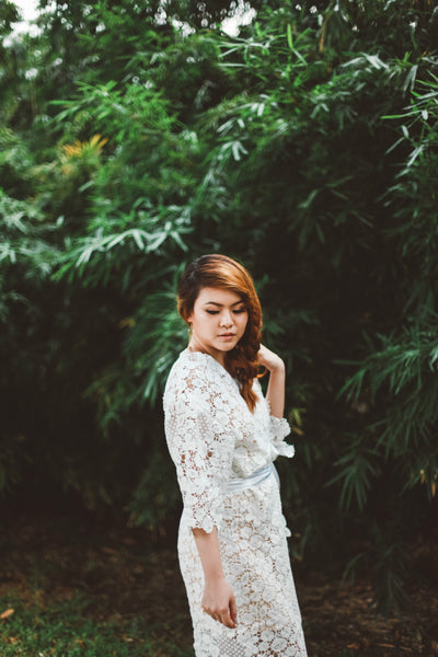 Midsummer Night's Dream Lace Gown