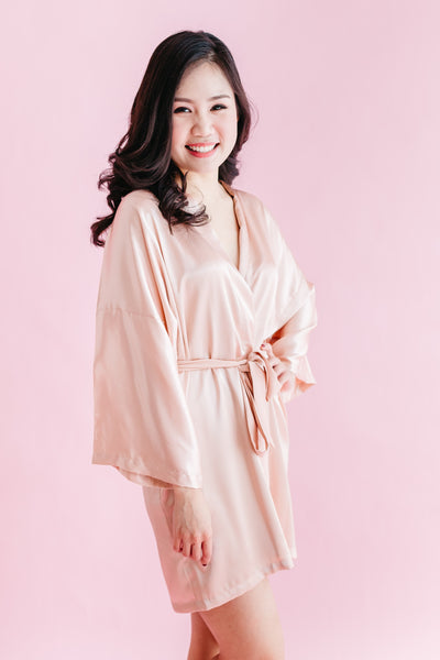 Signature Silk Robe (120 colours)