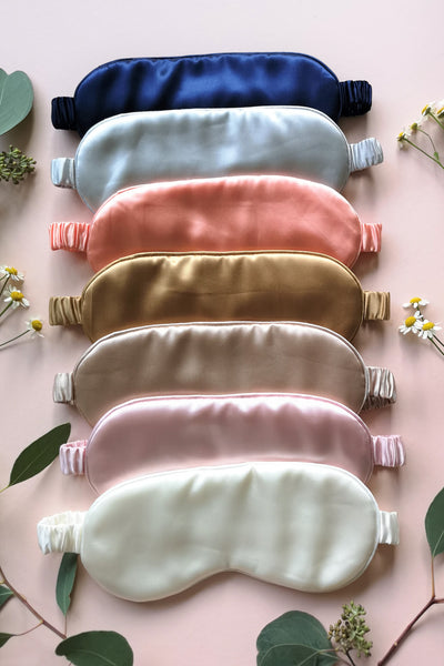 Mulberry Silk Eye Mask (10 colours)