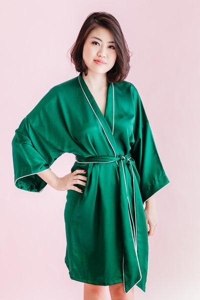 Resort Silk Robe (120 colours)