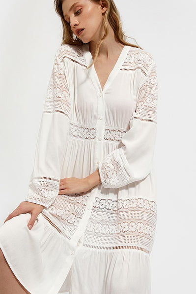 Sea Siren Lace Robe