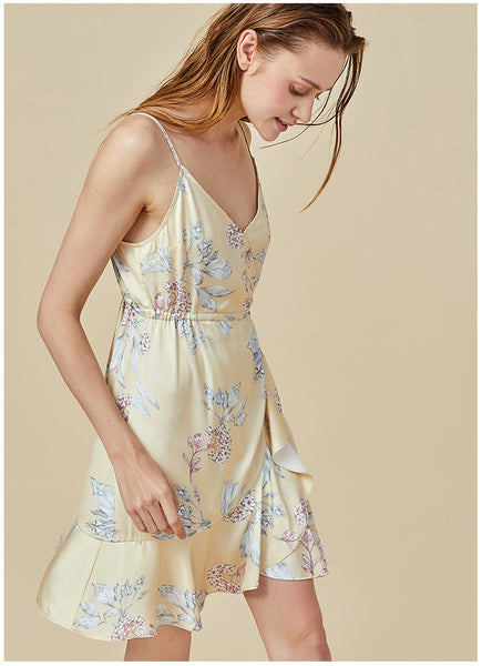 Spring Fling Flutter Hem Dress