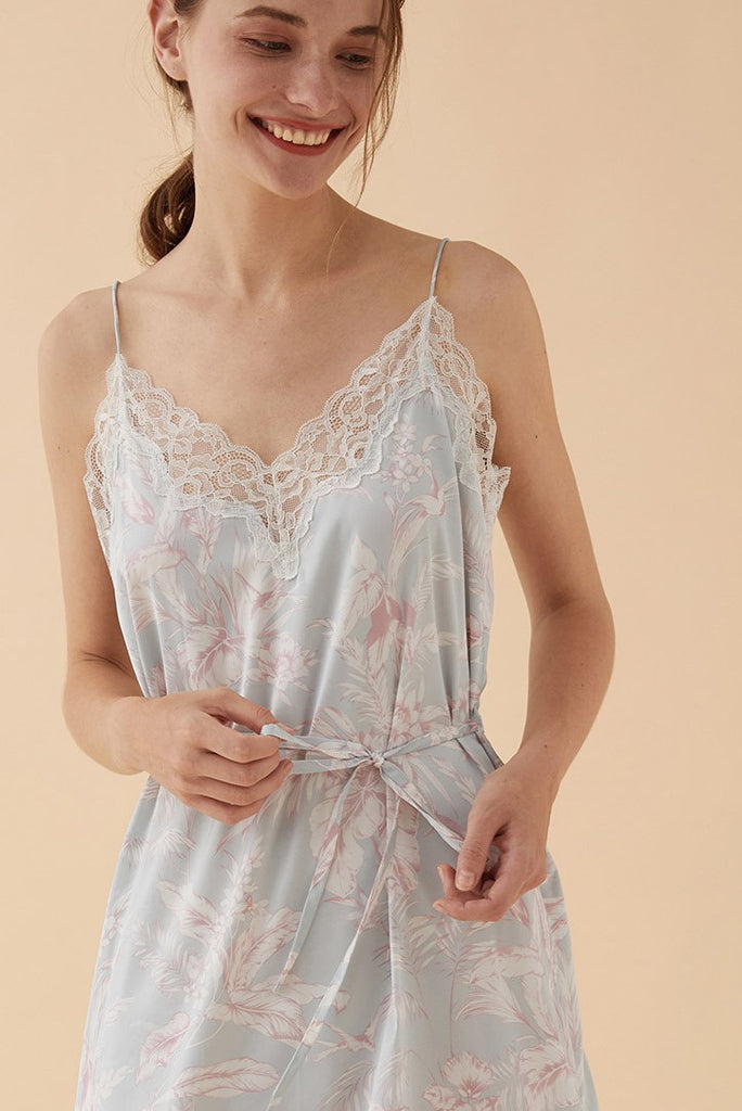 Thera Floral Slip - Bells & Birds
