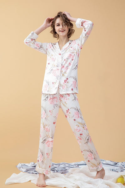 Wanderlust PJ Set (Red)