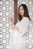 Forever and Ever Lace Maternity Robe