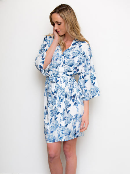 Dreaming of Hydrangeas Robe