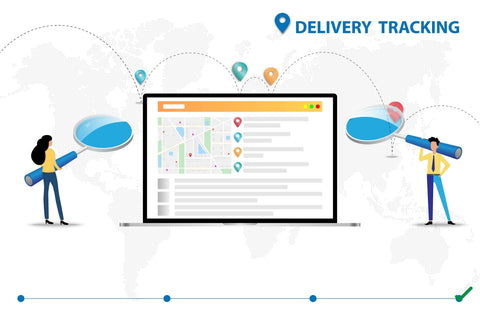 Online shipping tracking app