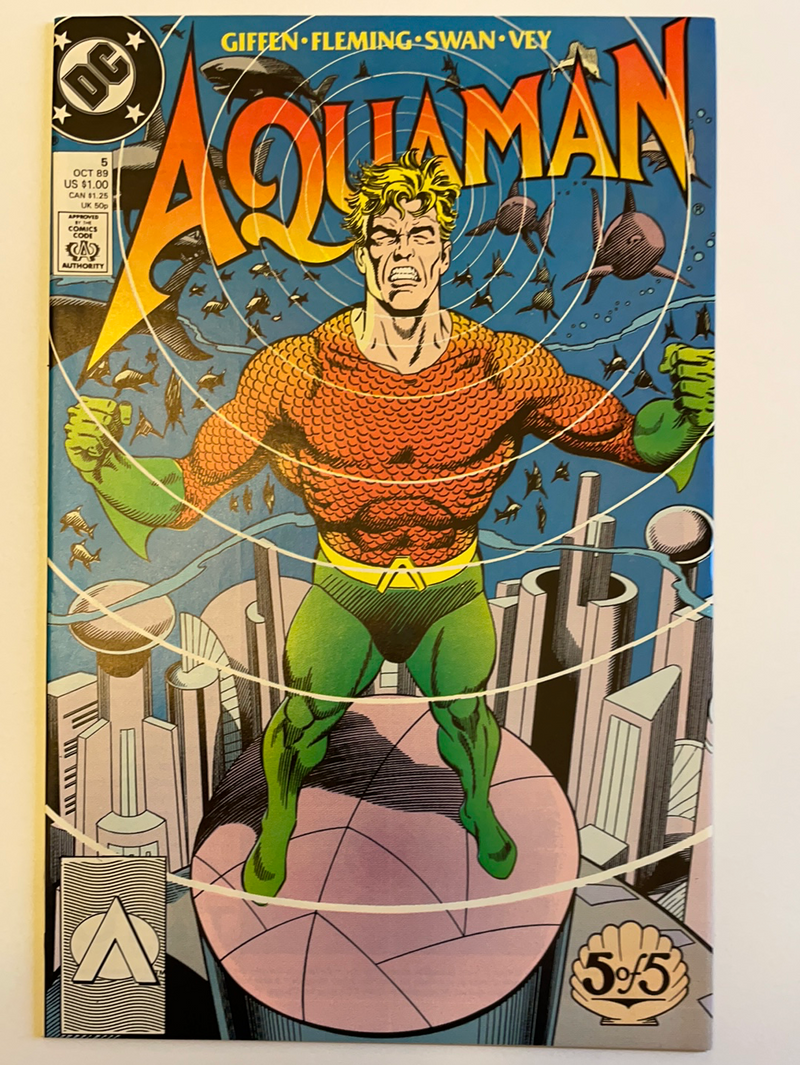 Aquaman Limited Series 1989