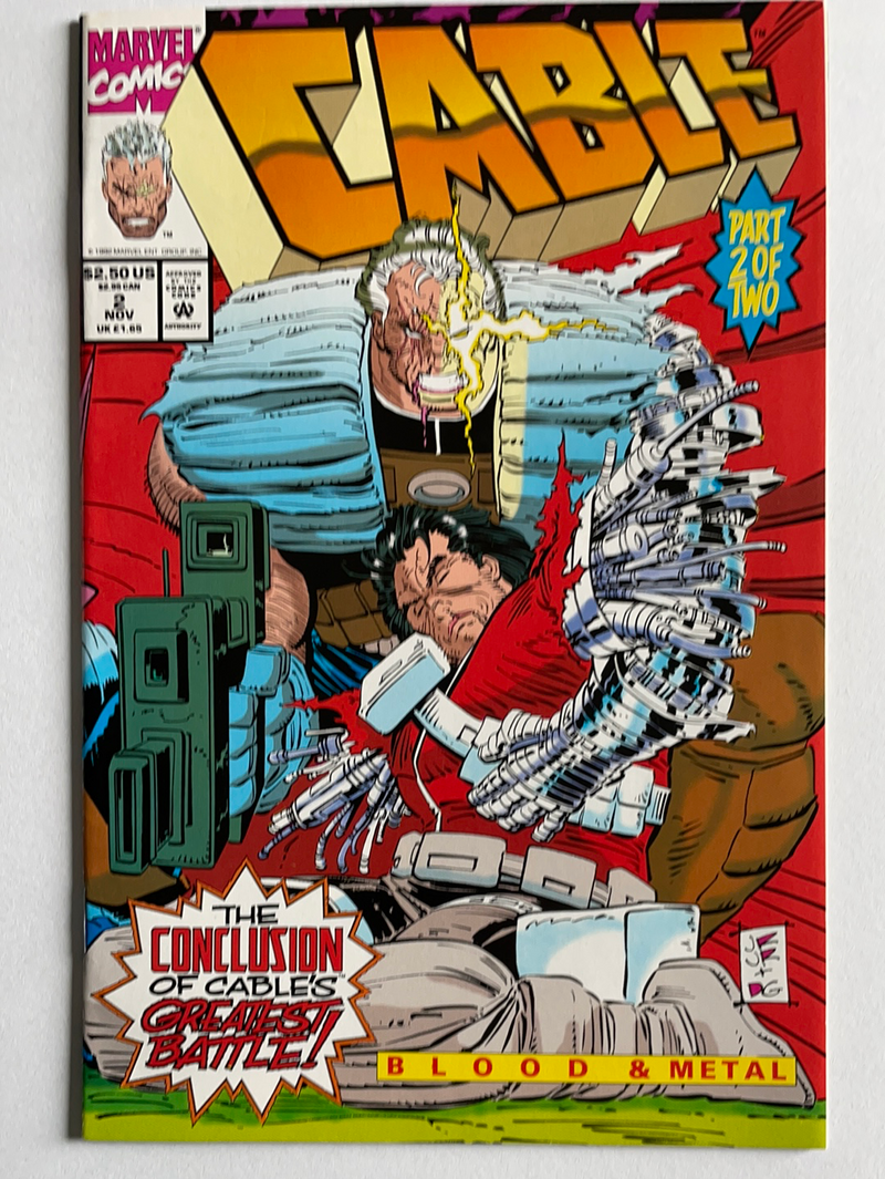Cable: Blood and Metal Limited Series