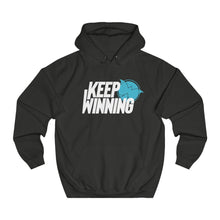 Load image into Gallery viewer, #KeepWinning Unisex College Hoodie