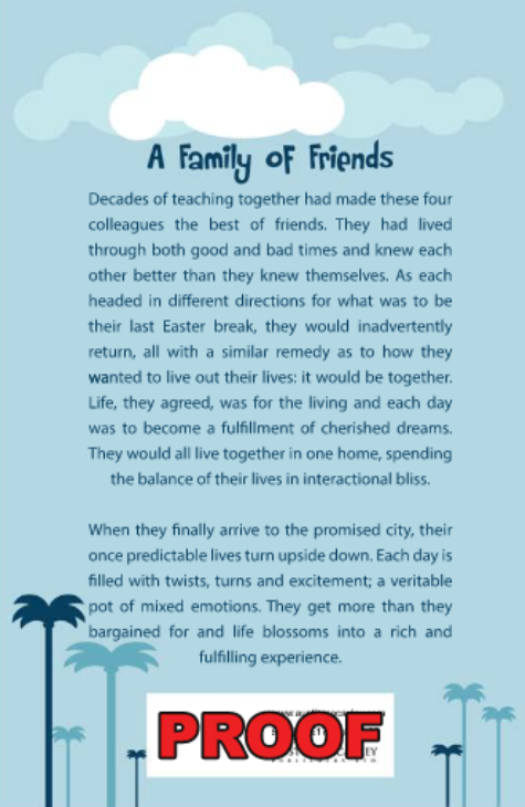 A Family of Friends - arlenesbooks