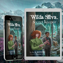 "Load image into Gallery viewer, Order the ""Wilda Silva, Secret Keeper"" eBook now!"