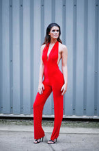 Load image into Gallery viewer, Backless Halterneck Jumpsuit