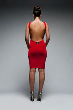 Load image into Gallery viewer, Narrow Strapped Backless Bodycon Dress
