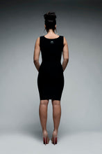 Load image into Gallery viewer, High Roundneck Bodycon Dress