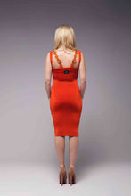 Load image into Gallery viewer, Beaded Straps Bodycon Dress