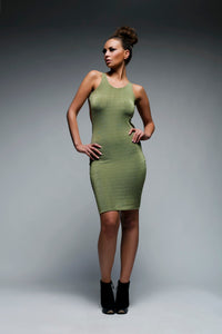 Completely Backless Bodycon Dress