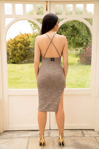 Bodycon Skirt with Side Split