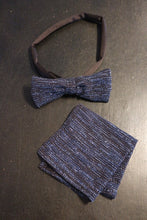 Load image into Gallery viewer, Mens Matching Bowtie and Handkerchief