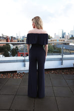 Load image into Gallery viewer, Ruffle Bardot Jumpsuit