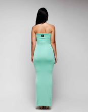 Load image into Gallery viewer, Full Length Strapless Sweetheart Bodycon Dress