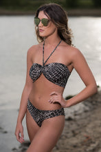 Load image into Gallery viewer, Sweetheart Bandeau Bikini with Tie