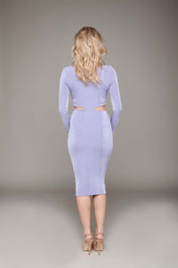 Long Sleeved Bodycon Skirt Dress