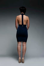 Load image into Gallery viewer, Deep Plunge Bodycon Dress
