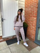 Load image into Gallery viewer, Black Label Luxury Oversized Tracksuit