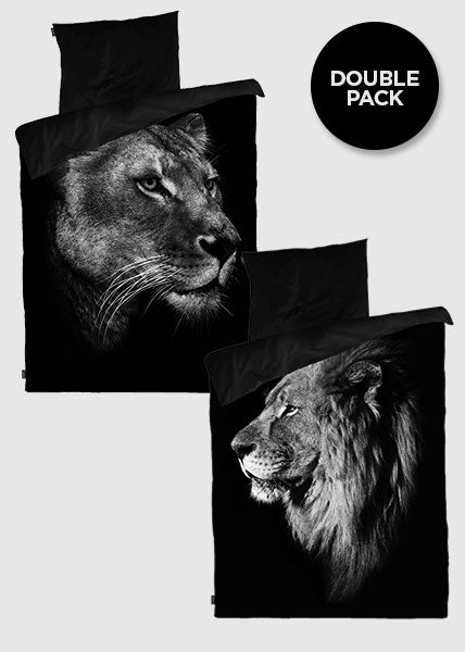 BLACK KING/LIONESS - 2 SETS