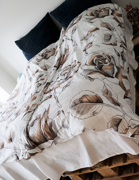GOLDEN FLOWERS DUVET