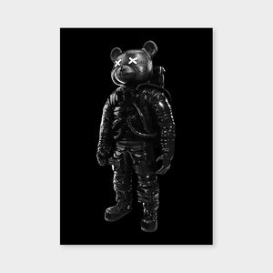 Astrobear Black Mirrored
