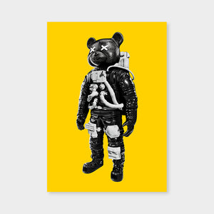 Astrobear Yellow BW Mirrored