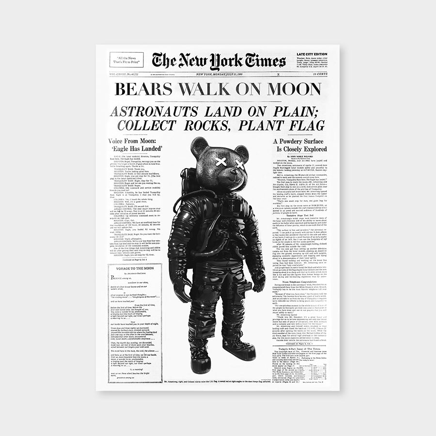 Bears walk on Moon V1