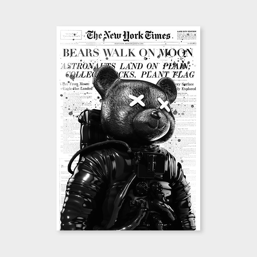 Bears walk on Moon V2